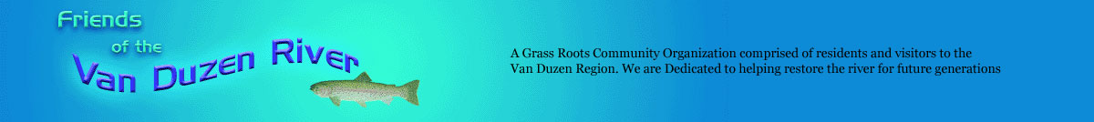 Friends of the Van Duzen Website